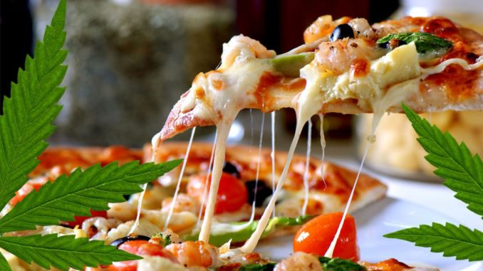 Image result for cannabis pizza